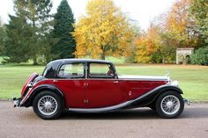 Triumph Gloria Six Vitesse Saloon 1934 a 1936 Classic European Cars, Classic Cars, Vintage Cars, Antique Cars, Triumph Motor, Collector Cars, Amazing Cars, Rolls Royce, Old Cars