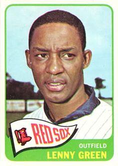 1965 Topps Lenny Green Boston Red Sox Baseball Card for sale online Twins Baseball, Baseball Cards For Sale, Boston Red Sox, Socks, Green, Ebay, Mlb, Photos, Hosiery