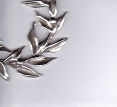 silver olive branch