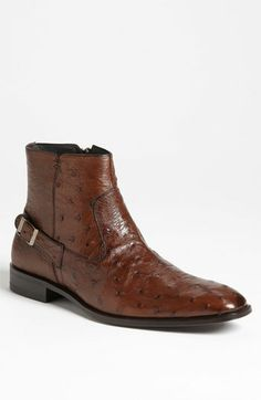 Mezlan 'Bravo' Ostrich Boot available at #Nordstrom