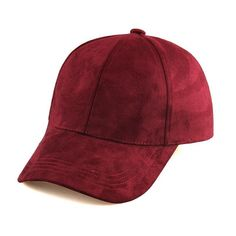 61b6004f3f3 Caps - Classic Suede Strapback Cap Hip Hop