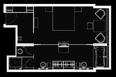 Deluxe Room - Floorplan
