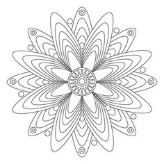 Coloring Mandalas Pages For Grownups