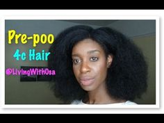How to 4c hair series: Pre-poo (coconut oil)