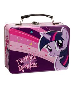 Look at this #zulilyfind! My Little Pony Large Lunch Box by My Little Pony #zulilyfinds