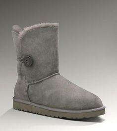 UGG Bailey Button Boots 5803 Grey