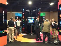 A busy stand at ACORDLOMA #xuberUS