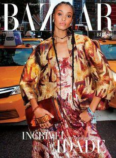 Samile Bermannelli for Harper's Bazaar Brazil October 2017