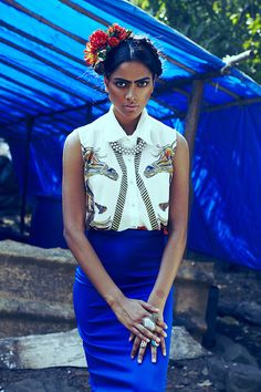 Relieving Frida by Omkar Chitnis Photography