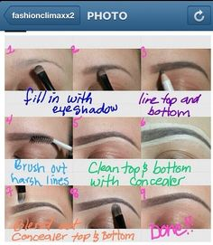 DIY: Eyebrow Pencil in. Makes any eyebrow looks full