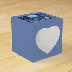 Field of Frost Winter Time Favor Box Head Start, Favor Boxes, Business Supplies, Winter Time, Party Hats, Frost, Holiday, Christmas, Birthday Parties