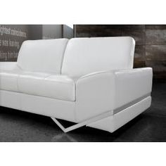 Vanity - White Modern Sofa Set
