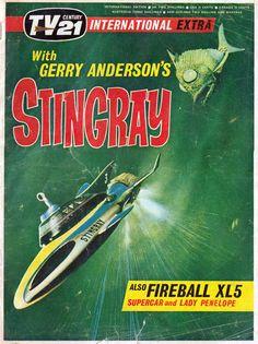 Stingray, I'm still thinking of you.  R.I.P. Gerry Anderson.