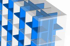 Der CD-Einsatz TEYLÖRD für Expedit Regale kann von beiden Seiten in ein Regalfach eingesetzt werden.