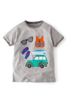 Mini Boden 'Doing Stuff' Short Sleeve T-Shirt (Toddler Boys, Little Boys & Big Boys) available at #Nordstrom
