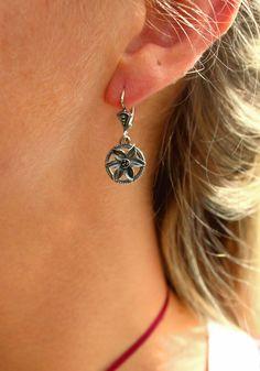 Trachtenschmuck, Dirndl, Tracht Diamond Earrings, Drop Earrings, Form, Modern, Jewelry, Fashion, Beautiful Earrings, Brooch, Daffodils