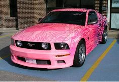 mustang in Pink!!!