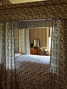 Inside Robert Carter House at Colonial Williamsburg