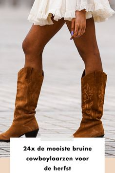 Fashionchick | style | boots | brown | legs | cowboy | boots | styling | shopping | skirt | nails | most beautiful boots | add to cart | ready