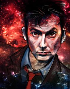 Tenth Doctor Art Print by Hash | Society6