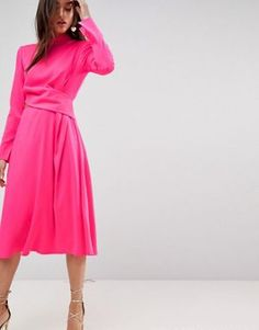 ASOS Cut Out Midi Dress