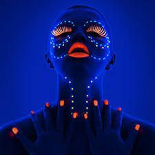 The Fluorescent Uv Face Paint Can Also Be Used As A Body Making It Perfect For All Occasions