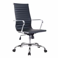Office chair Pu leather high back executive task ergonomic computer swivel gaming furniture Gaming Furniture, Design Furniture, Chair Design, Gaming Chair, Deco Furniture, Furniture Layout, Furniture Arrangement, Furniture Stores, Furniture Makeover