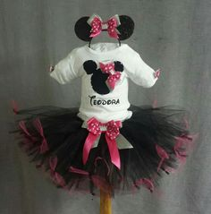 Birthday tutu outfits -Minnie