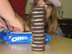 probability, mean, median, mode - cute idea but I would eat the Oreos myself!