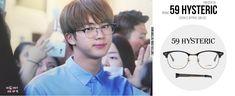 JIN #BTS 170519 airport  #JIN #방탄소년단 #진  #석진  59 HYSTERIC new Cohen c1 glasses  tnx to NCT_fashion / via 59hysteric.official pic.twitter.com/fXQpDg9aaf Korean Fashion Men, Mens Fashion, Fashion Outfits, Fashion Clothes, Taehyung Gucci, Bts Lyric, Bts Memes, My Love, Eyewear