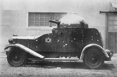 A early design Japanese armored car