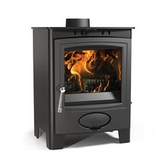 Aarrow Ecoburn plus 5 defra stove from Arada Stove is approved for Smoke Exempt Areas. Buy the Aarrow Ecoburn plus 5 defra approved stove from authorised retailers online UK Multi Fuel Burner, Multi Fuel Stove, Cast Iron Fireplace, Electric Fireplace, Wood Burning Logs, Inset Stoves, Wood Stoves, Home