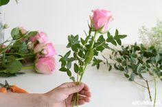 DIY -kimppu. Tee itse kukkakimppu - katso ohjeet.