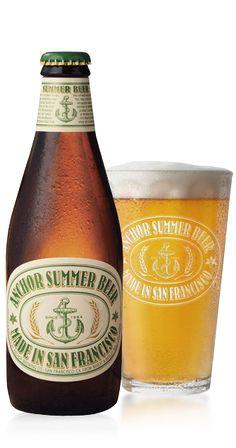 Cerveja Anchor Summer Ale, estilo American Wheat/Rye, produzida por Anchor Brewing Company, Estados Unidos. 4.5% ABV de álcool.