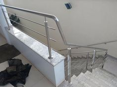Glass Stairs, Stairs, Glass, Railings, Terrace