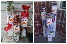 Делаем снеговика из всего, что под рукой! - Ярмарка Мастеров - ручная работа, handmade