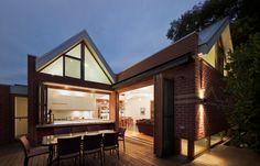 contemporary exterior by Mihaly Slocombe  love the openness from inside to outside