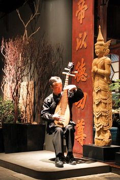 Dating back to the Tang Dynasty (618-907 AD), the Pipa Lute (the instrument, as seen in the photo, is about 1,000 years old) is one of the most popular Chinese instruments, which requires extraordinary finger dexterity. Performed by Kerry Leung.