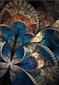a fractal pattern Wallpaper. Kaleidoscope Art, Wallpaper Pc Hd, Pattern Wallpaper, Computer Wallpaper, Custom Wallpaper, Wallpaper Quotes, Art Fractal, Fractal Design, Mandala Art