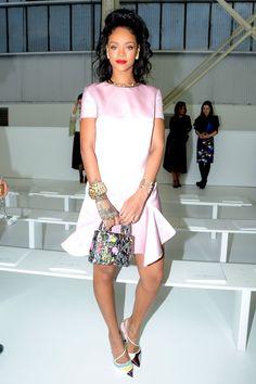 Rihanna in Dior   - HarpersBAZAAR.com