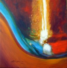 Abstract 10-2004 - Paintings by John Lautermilch