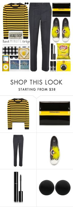 """""""Last Minute Trip"""" by barbarela11 ❤ liked on Polyvore featuring Miu Miu, Dsquared2, Jacquemus, Fendi, Chanel and Thomas Sabo"""