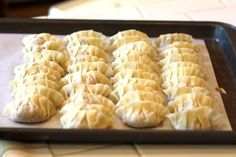 Gyoza Recipe (Japanese Pan-Fried dumplings) with step by step photos ~ https://steamykitchen.com