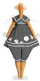 Mimin Dolls: tilda estilo marinheiro