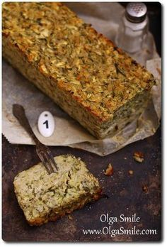 Terrine of zucchini Olga Smile Vegetable Recipes, Vegetarian Recipes, Cooking Recipes, I Love Food, Good Food, Eat Happy, Polish Recipes, Best Dishes, Recipes From Heaven