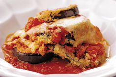 Easy, delicious and healthy Eggplant Bake with Peppers and Mushrooms recipe from SparkRecipes. See our top-rated recipes for Eggplant Bake with Peppers and Mushrooms. Eggplant Parmesan, Baked Eggplant, Eggplant Recipes, Healthy Eggplant, Eggplant Dishes, Canned Tomato Sauce, Parmigiano Reggiano, Recipe Details, Mushroom Recipes