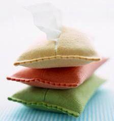 Guarda pañuelos de papel