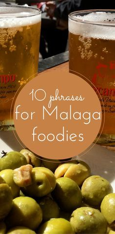 "In Spain they call it speaking in ""Andaluz."" And if you are anything like me, the first words you need to learn have to do with food! Check out the basics for ordering at a restaurant in Malaga. (Or at least knowing what the heck the waiter is asking!) 10 typical expressions for Malaga Foodies! http://devourmalagafoodtours.com/10-typical-expressions-from-malaga-for-foodies/"