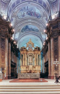 Catedral Metropolitana - Buenos Aires, Argentina - Just a few minutes away from El Pasaje Spanish School Southern Cone, Sacred Architecture, Cathedral Architecture, Architecture Design, Costa Rica Travel, Cathedral Church, Place Of Worship, Kirchen, Tango