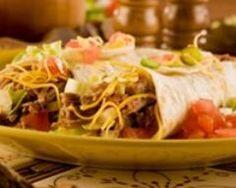 Burritos aux haricots sautés   Cuisine AZ